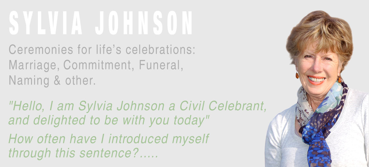 Sylvia Johnson Civil Celebrant